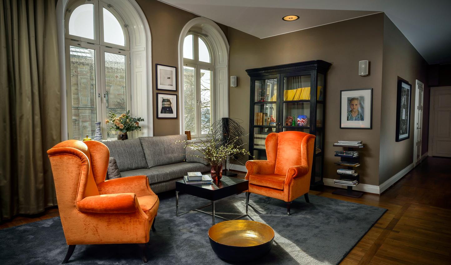 Sleek and stylish rooms