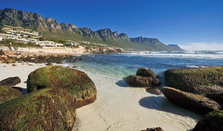 Count the 12 Apostles in Camps Bay