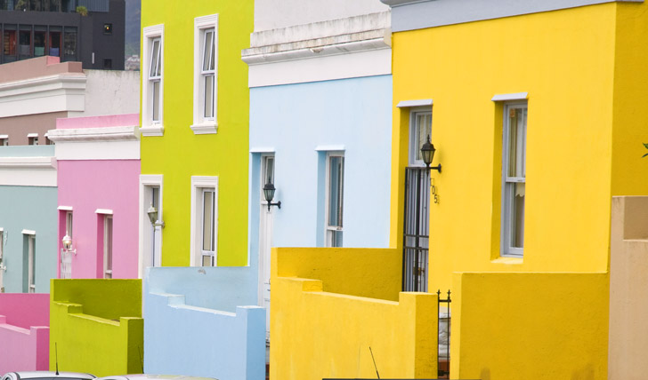 Explore the colourful streets of Cape Town