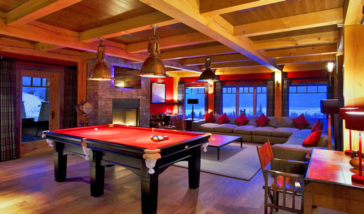 Relax in the games room