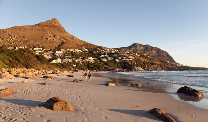 Watch the sunset on Cape Town's gorgeous beaches
