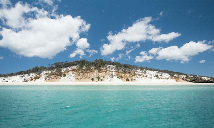 Fraser Island sand bank