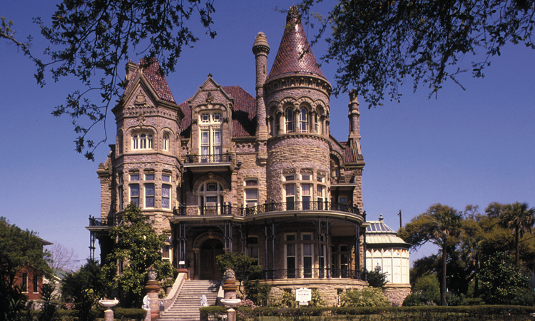 the bishop's palace, galveston