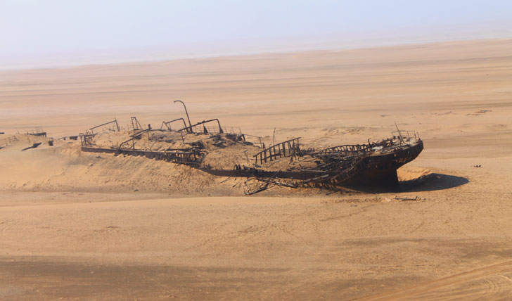 Shipwreck Namibia