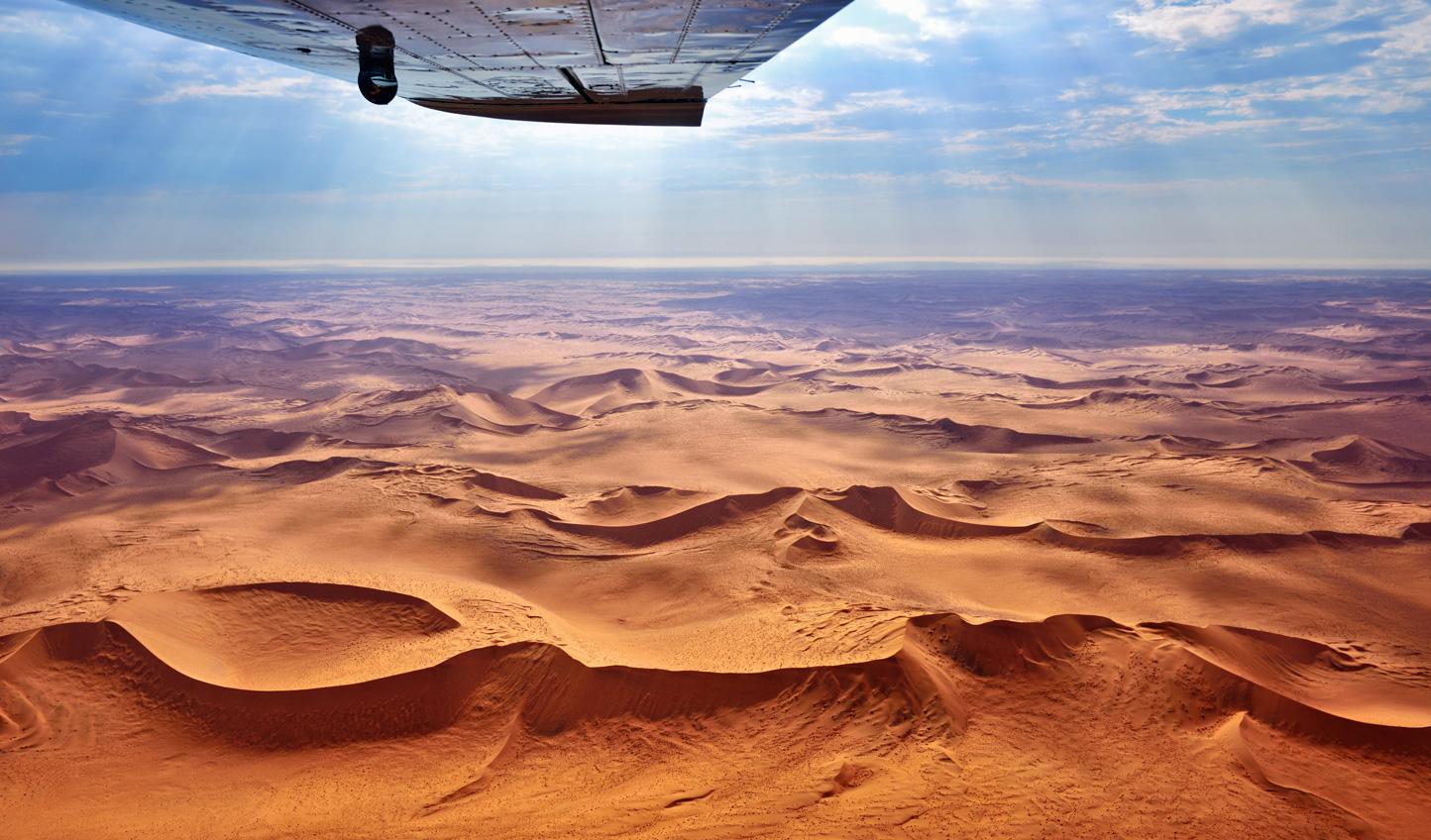 Soar above the Namib Desert