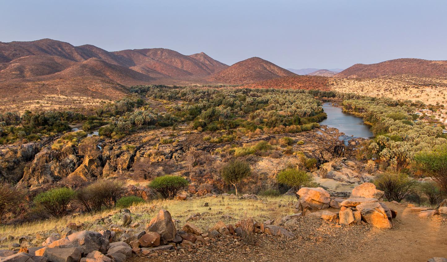 Head north to Kunene