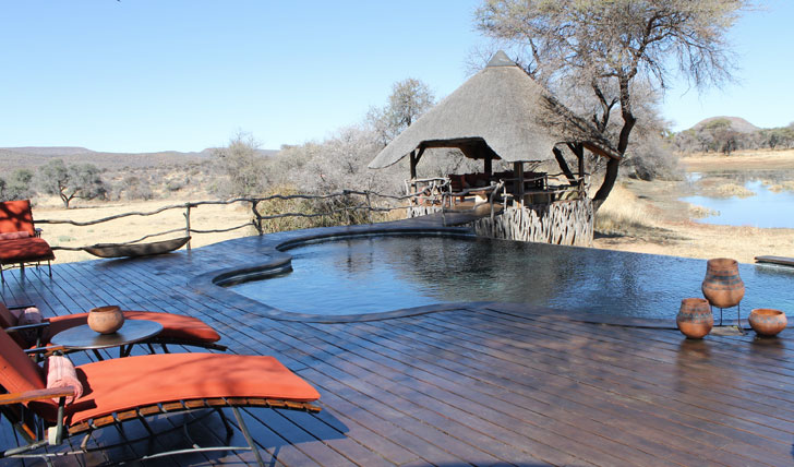 Okonjima Lodge Pool