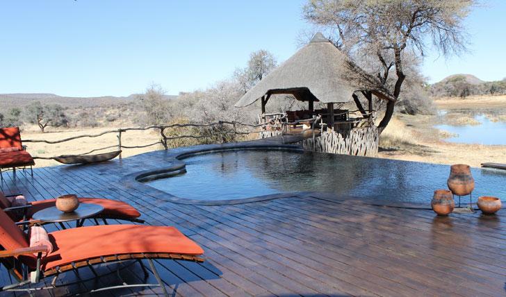 Okonjima Lodge Pool