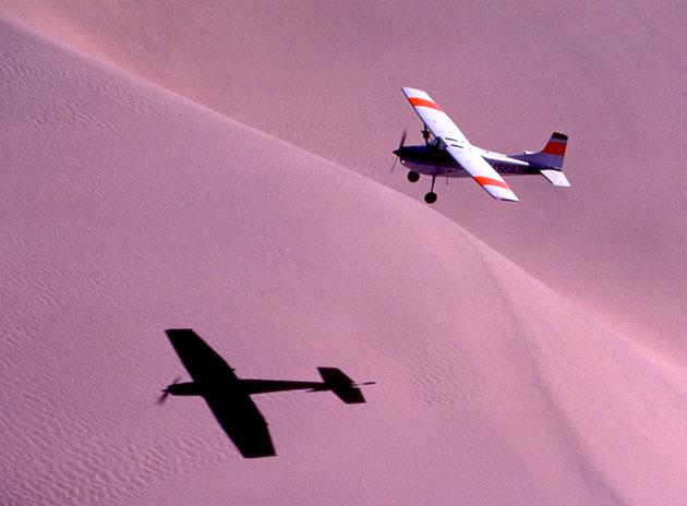 A flying safari in Nambia