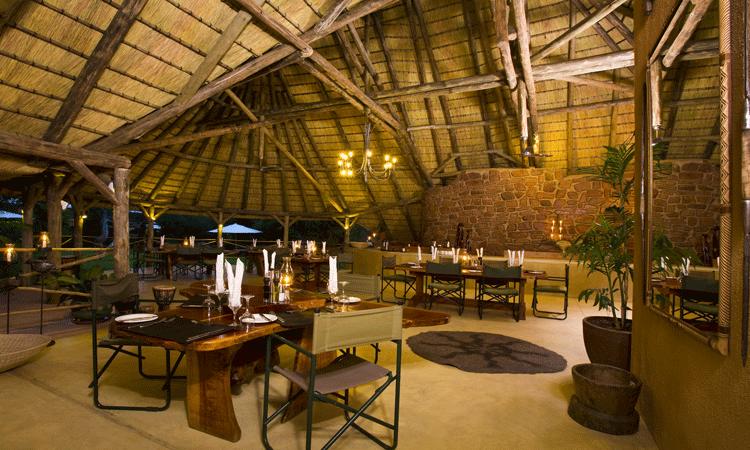 Okonjima lounge, Namibia