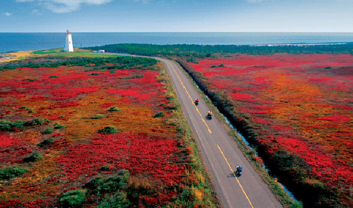 The incredible colours of Eastern Canada