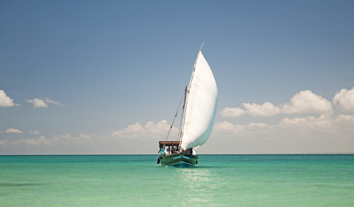 Set sail on your dhow safari