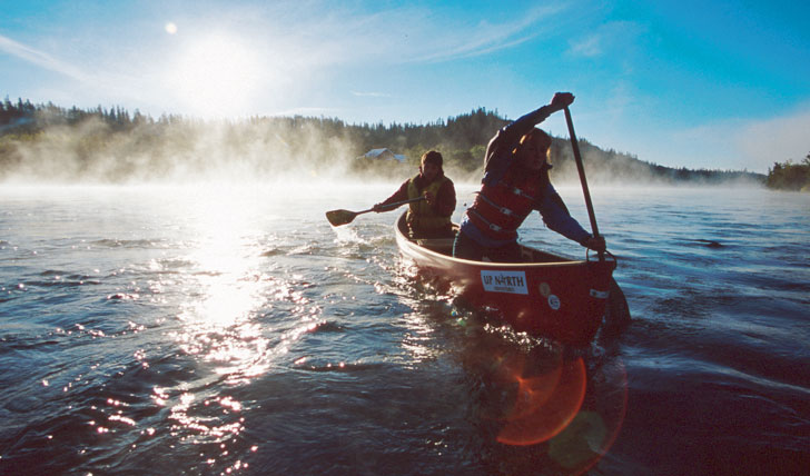 Grab a paddle and set sail in Canada