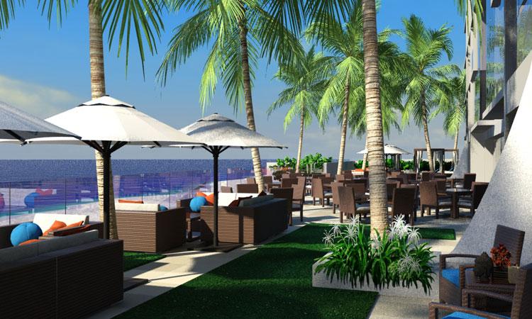 Omphoy Beachfront Patio