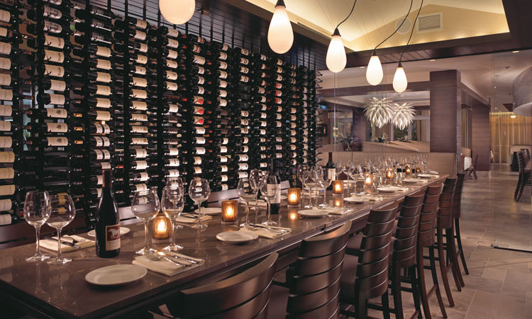 Atlantic Grille Wine Room