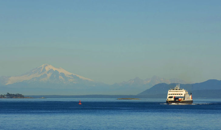 Hop on a boat and soak in the views of BC