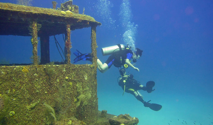 Exciting diving opportunities
