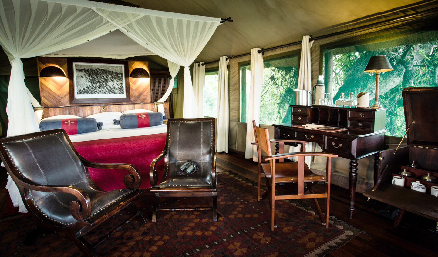Your luxury tented suite