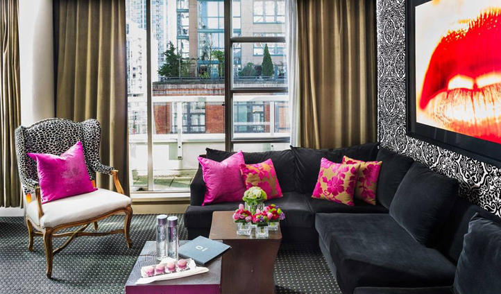 A quirky hotel in the heart of Vancouver