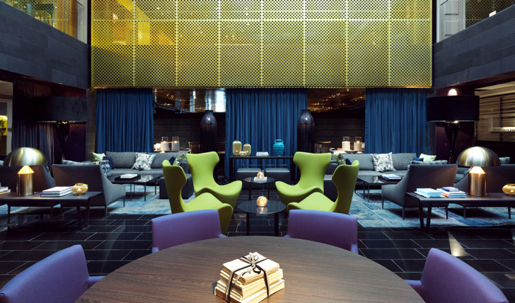 Immerse yourself in high-design at The Clarion hotel