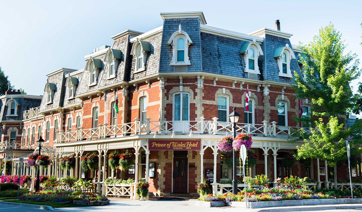 A hotel worthy of royalty