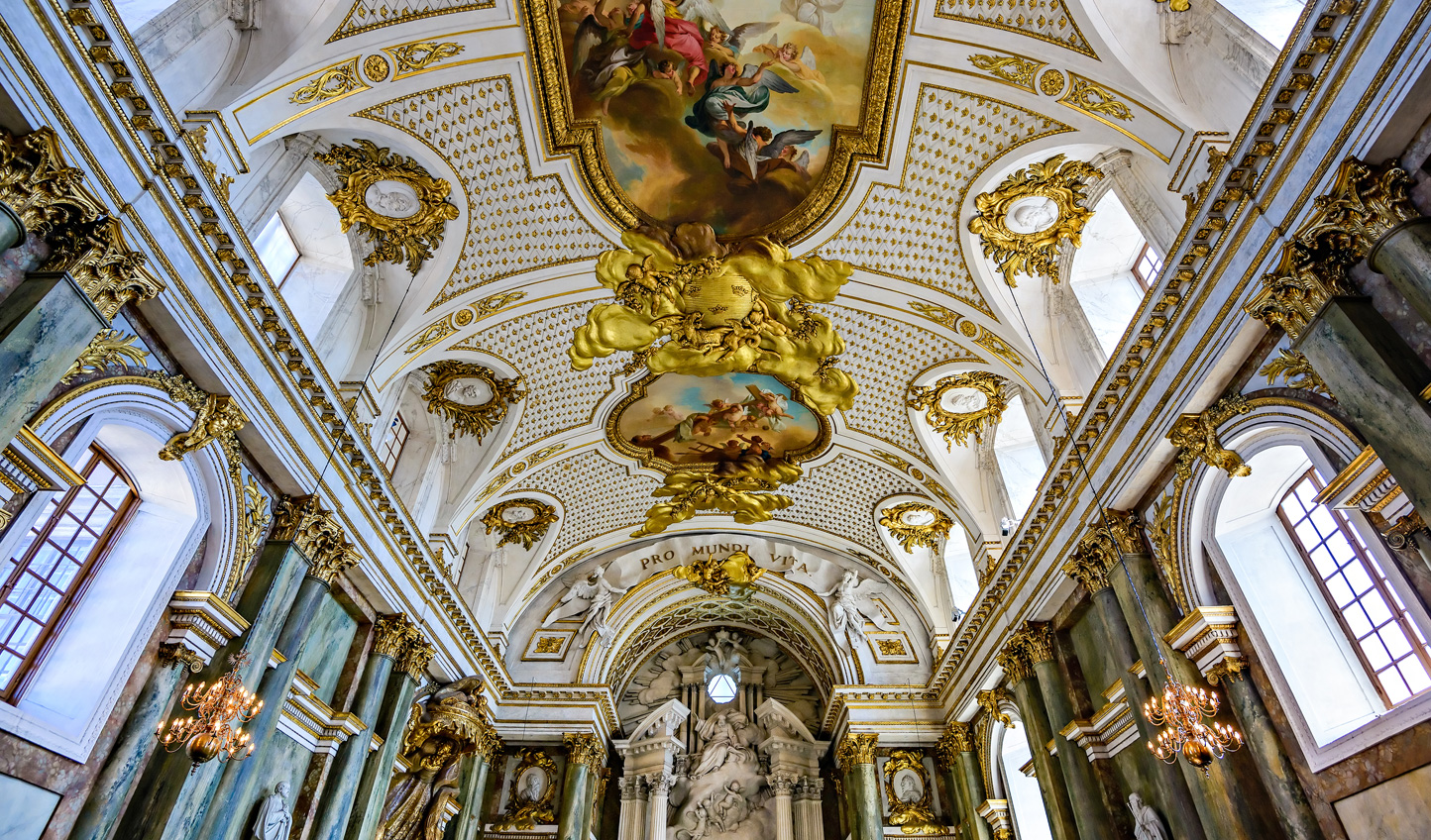 Explore the beautiful Royal Chapel during your walking tour