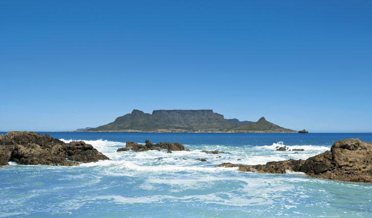 South Africa's coastline