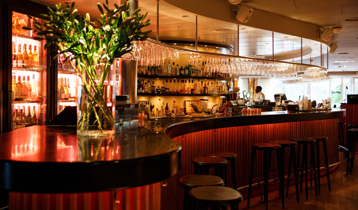 Grab a drink at the bar