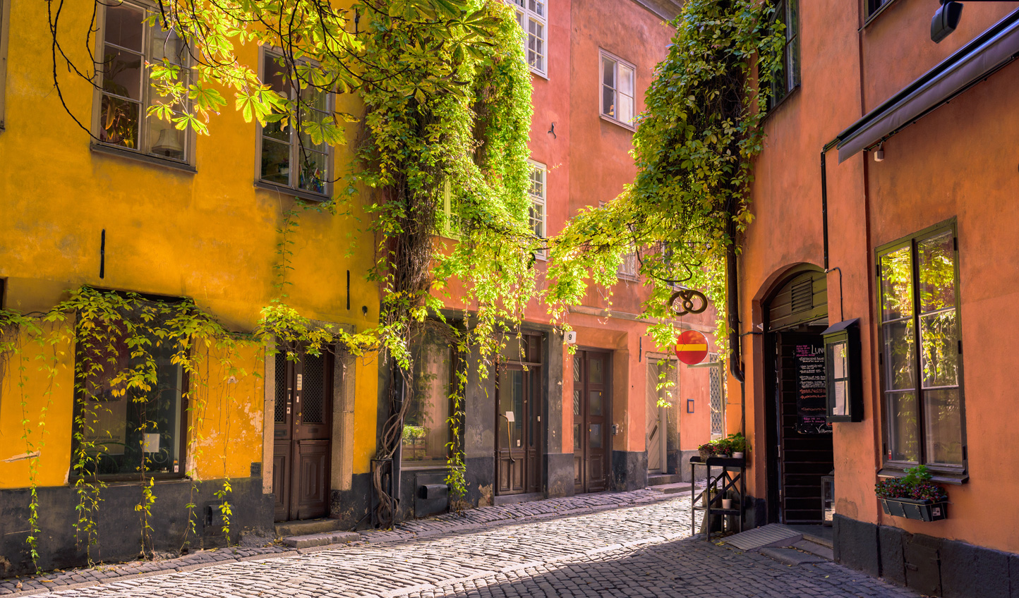 Take a walking tour of Stockholm's historic Old Town