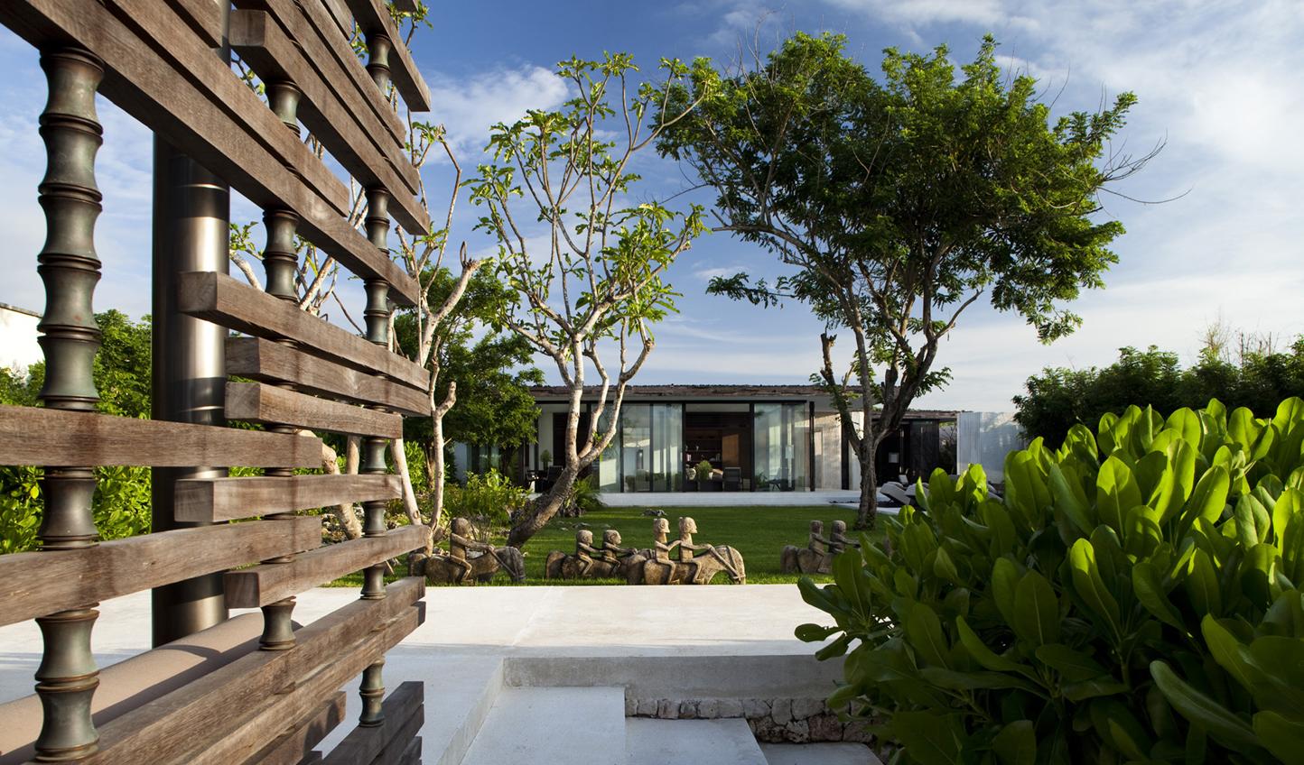 Unwind amid tropical gardens
