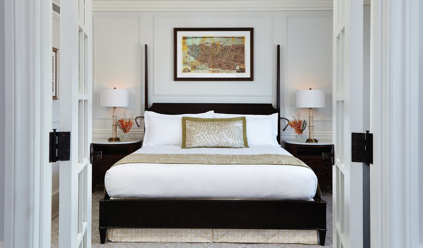 Fall into a sumptuous king-size bed