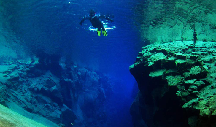 Diving the Silfra Fissure