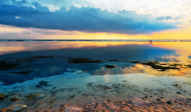 Sunset at Gili Travangan