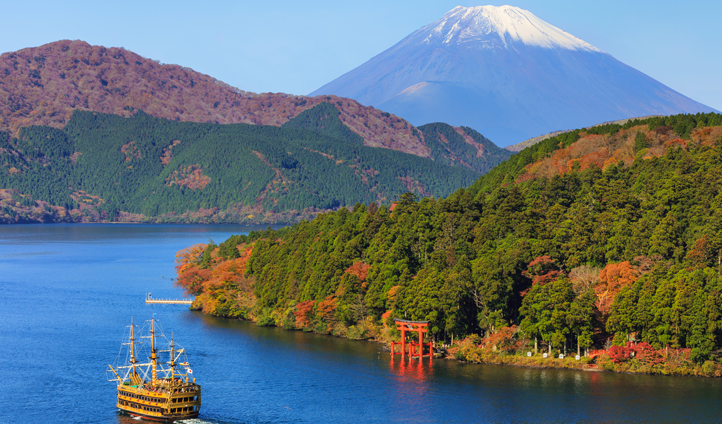 Explore beautiful Hakone