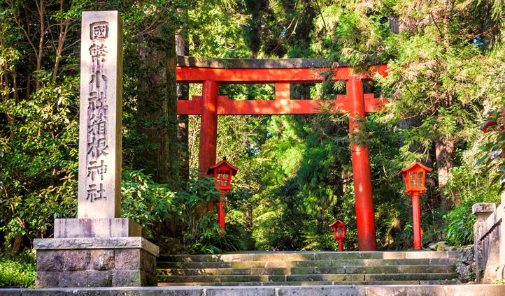 Hakone shrines