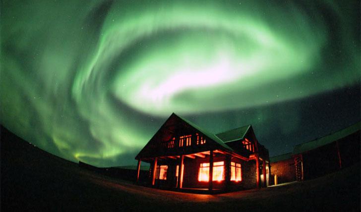 Hotel Ranga and the Northern Lights