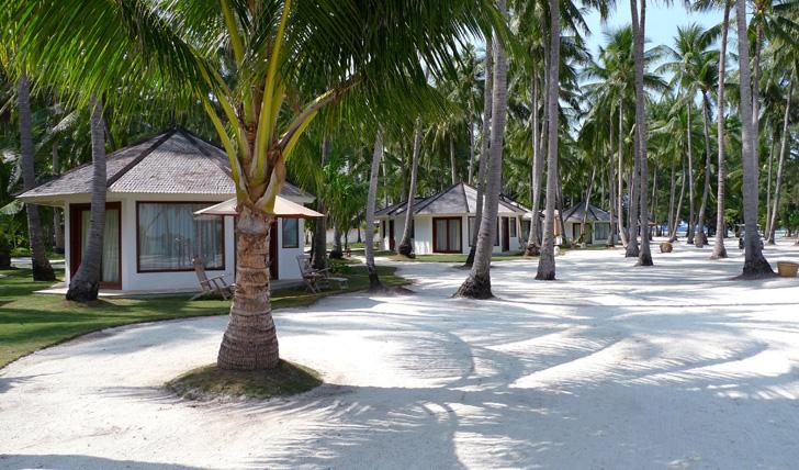 Beach at Kura Kura Indonesia