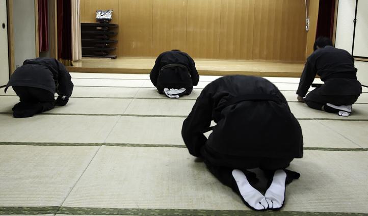 Practice meditation with your Sensei
