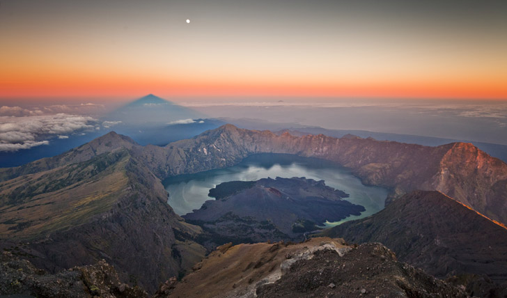 The incredible views from Mount Rinjani