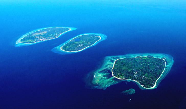 The stunning Gili Islands