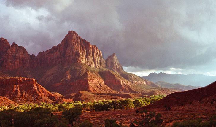 Rolling mountains of Utah