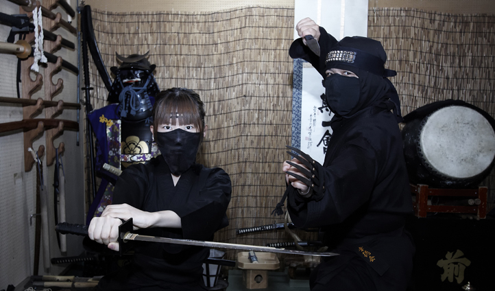 Swords and Samurai practice