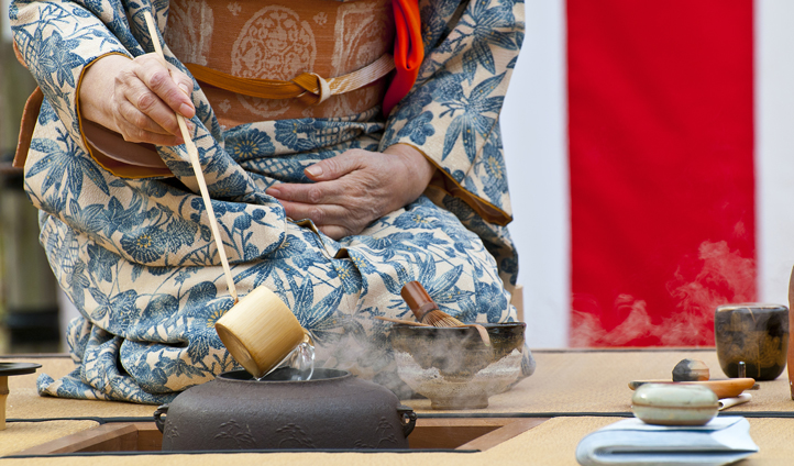 Take part in a local tea ceremony