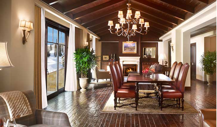 For a luxury Utah holiday stay at the Montage Deer Valley