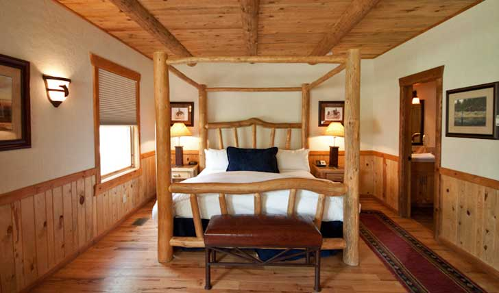 The guestrooms at Sorrel River Ranch