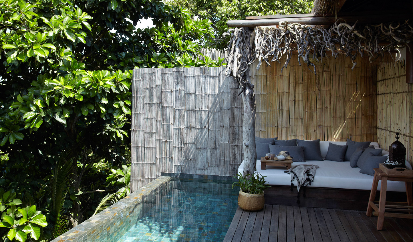 Hideaway in the jungle, dipping in and out of your private pool