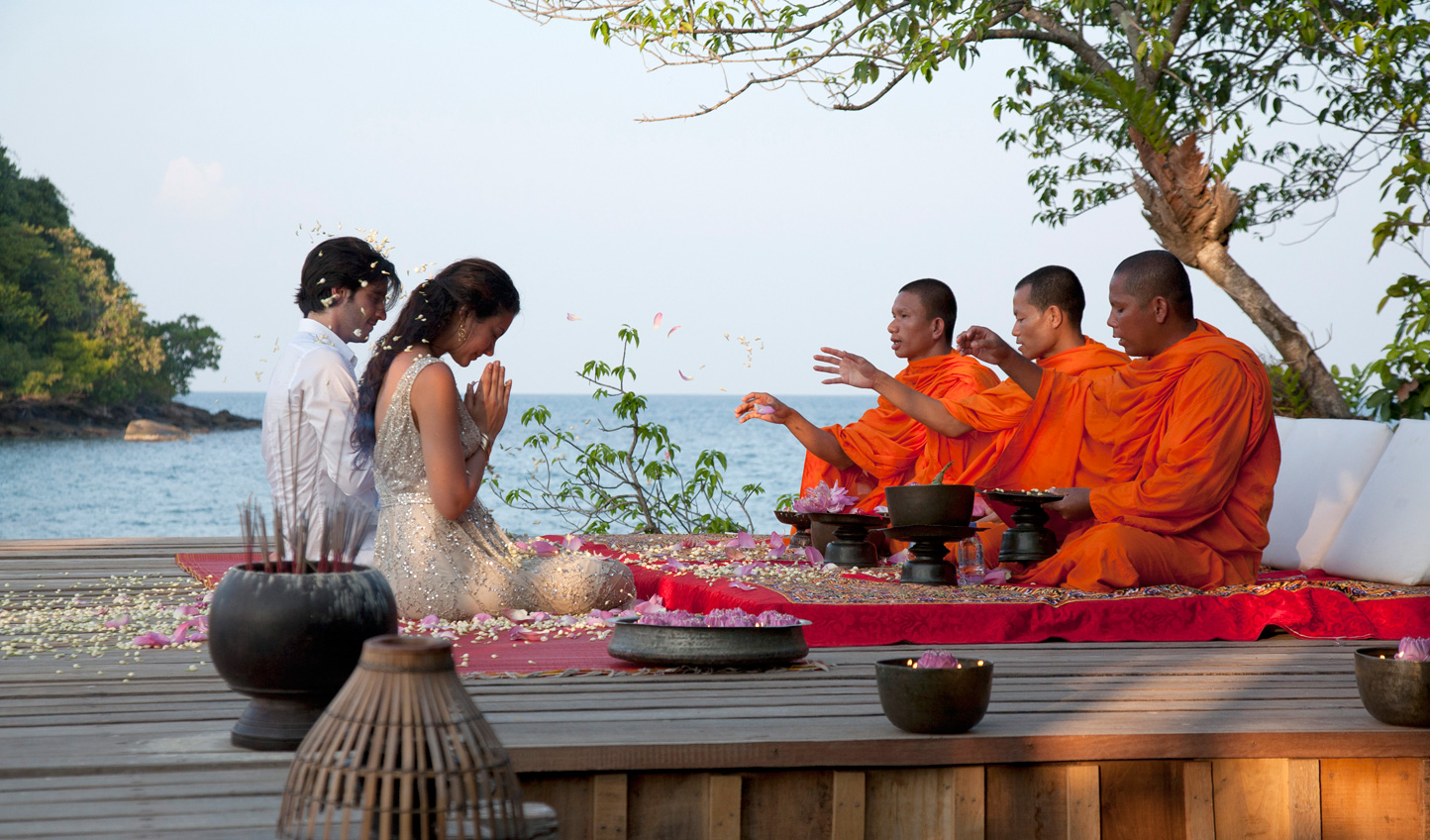 Connect with local culture with a blessing from the monks