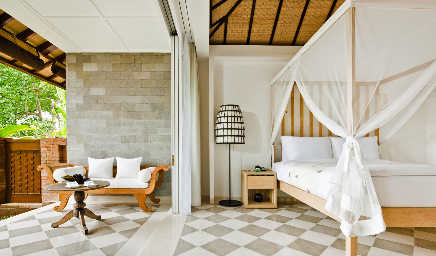 Step straight from your bed out onto your private terrace