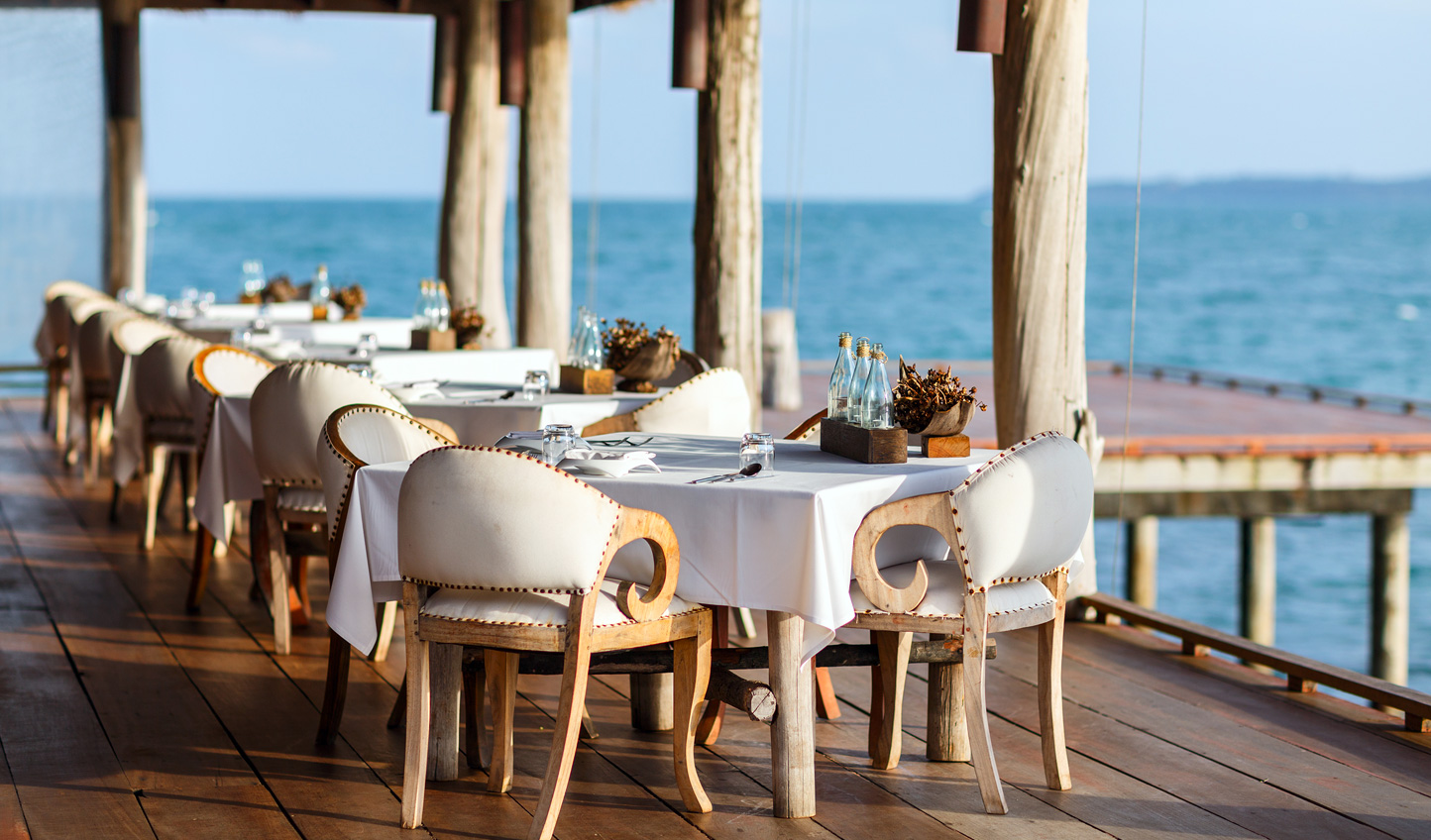 Dine on the freshest seafood and exquisite local delicacies