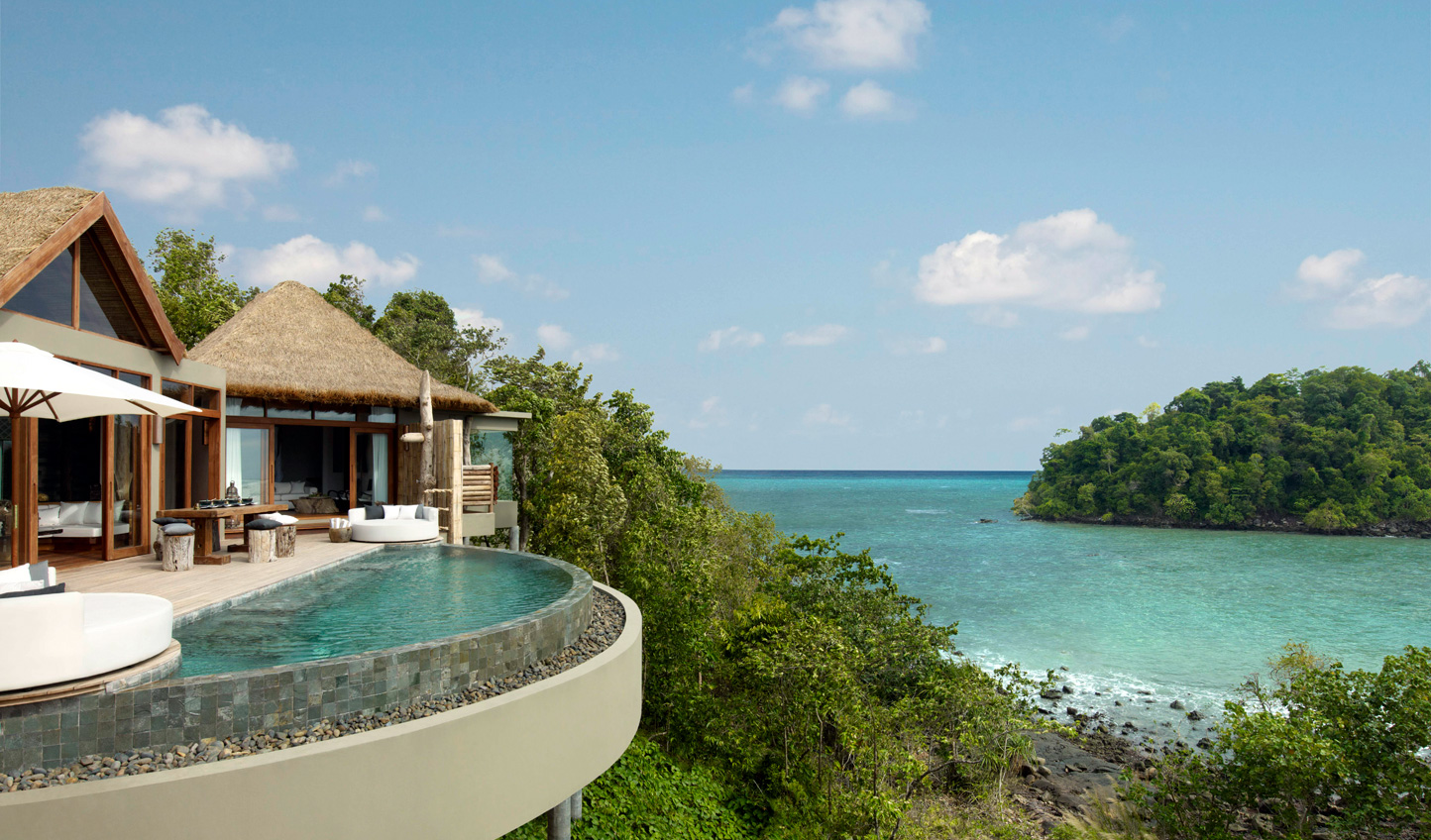 A bolthole so private, you'll feel as if the island is entirely your own